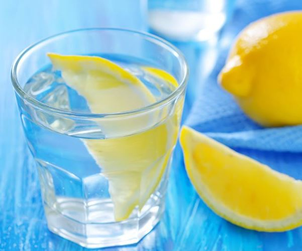 warm water and lemon