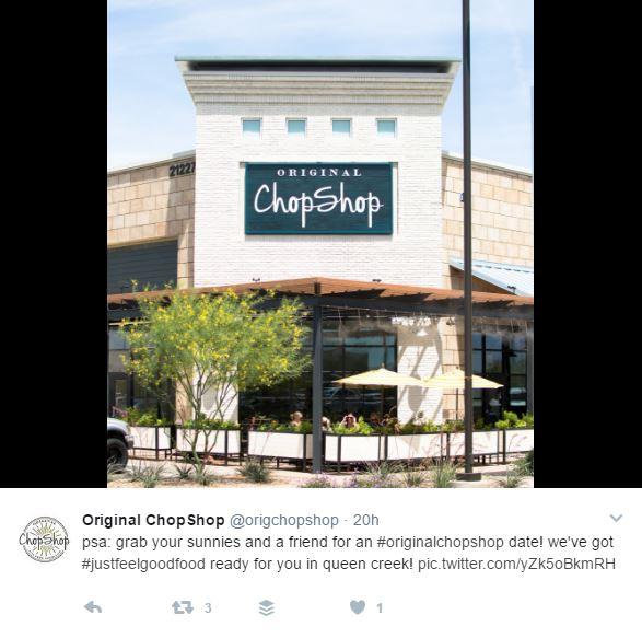 Original Chop Shop in queen creek